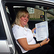 passing driving test