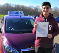 Driving Lessons and Test in Stevenage
