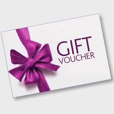 driving lesson Gift voucher